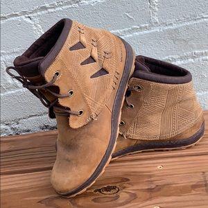 Brown Merrell booties